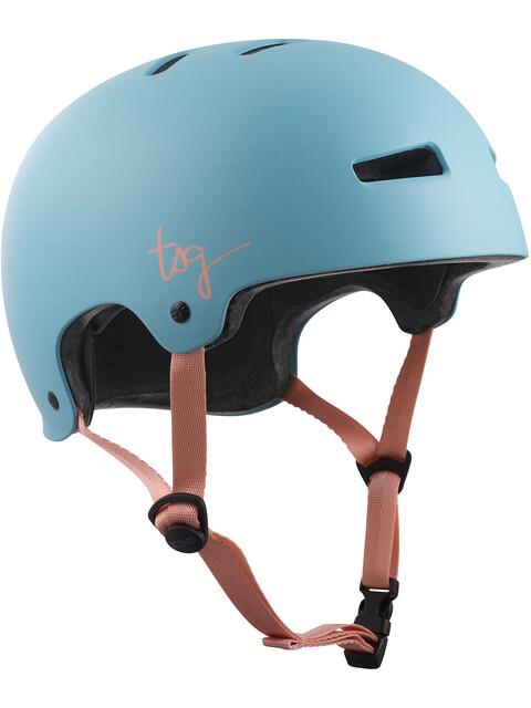 TSG Evolution Solid Color casco per bici Donna blu